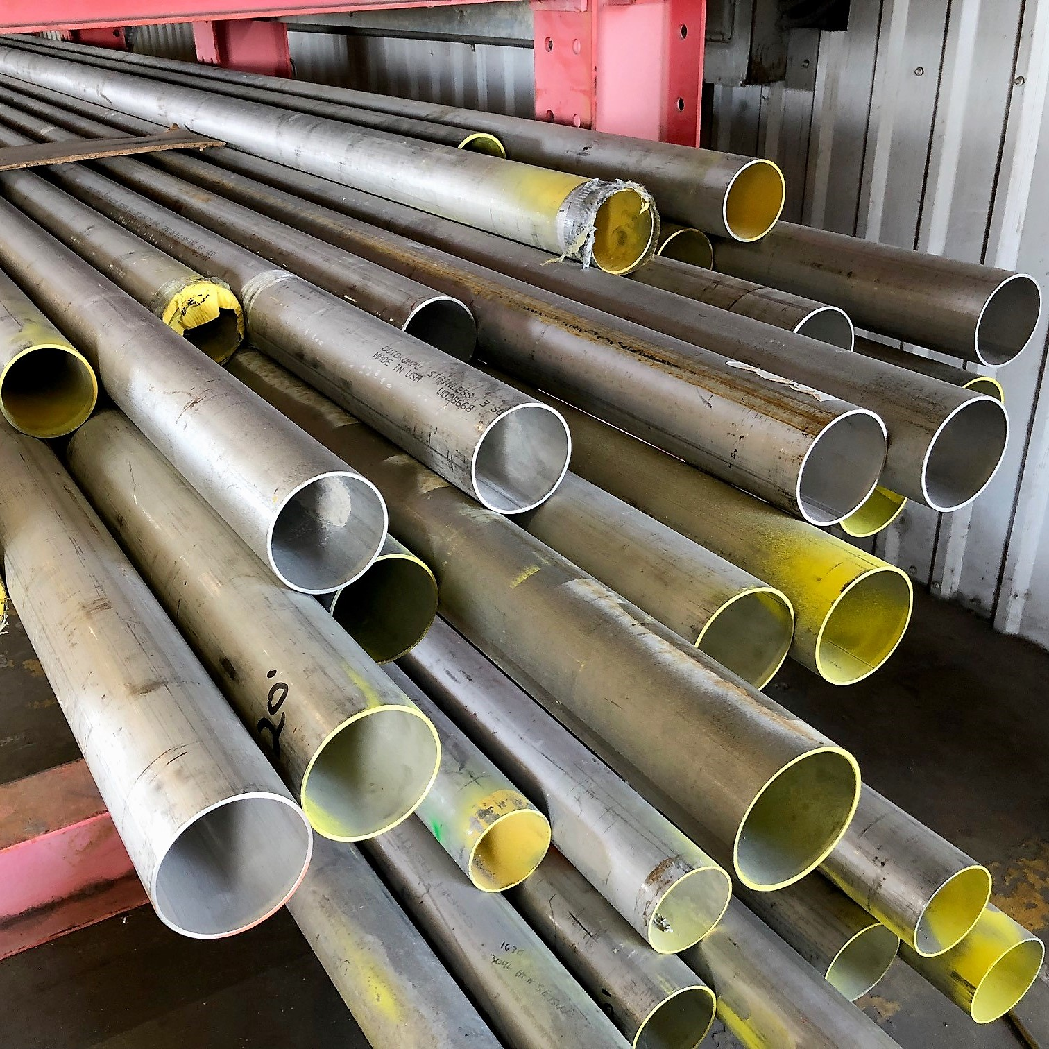 "3"" Stainless Steel Pipe, Welded, Grade 304, Schedule 10"