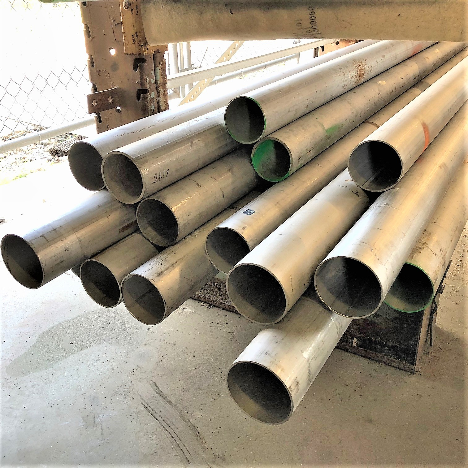 "4"" Stainless Steel Pipe, Welded, Grade 316, Schedule 10"