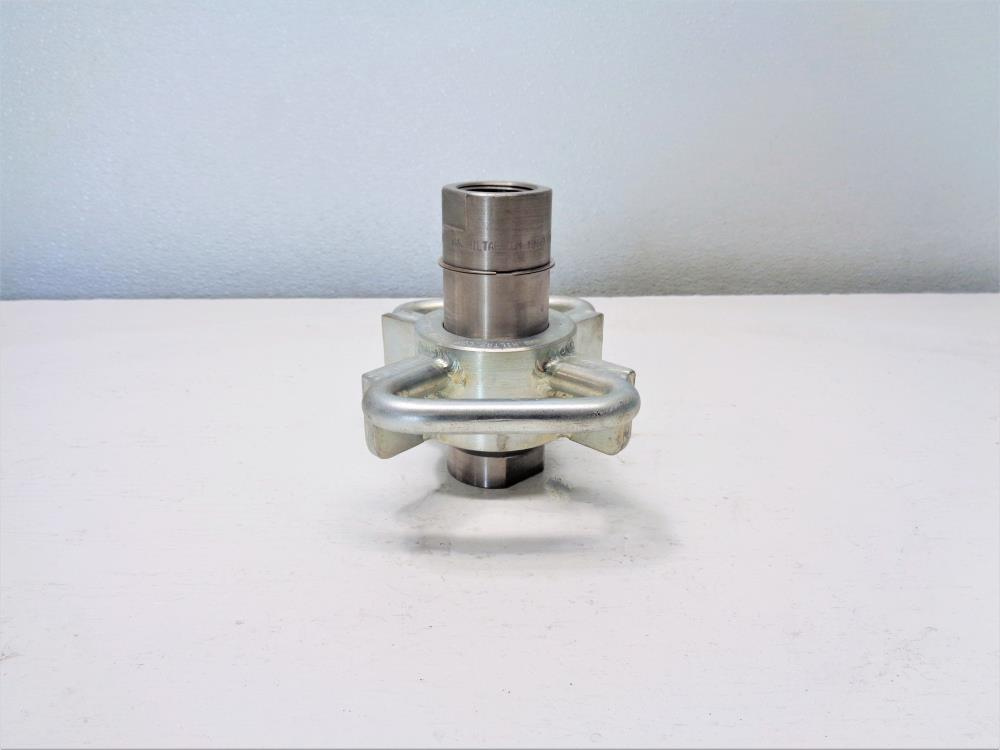 "Hiltap 1"" Transfer Loading Safety Quick Coupling #HT3L-10-6A-MK2-D-3001"