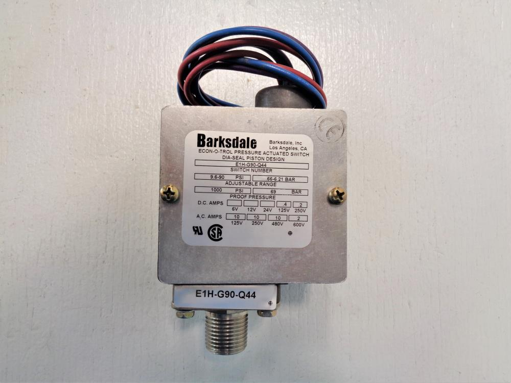 Barksdale Econ-o-trol Pressure Actuated Switch E1H-G90-Q44 on compressor pressure switch diagram, pressure release switch, pressure switch regulator, pressure switch starter, pressure control switch, pressure switch schematic diagram, pressure switch open with inducer on, pressure switch spec sheet, pressure tank installation diagram, pressure switch parts diagram, water pressure switch diagram, pressure switch installation, square d pressure switch diagram, pressure vacuum breaker diagram, pressure switch cover, pressure switch circuit diagram, well pressure switch diagram, pressure switch plug, pressure switch water pump, pressure switch lighting,