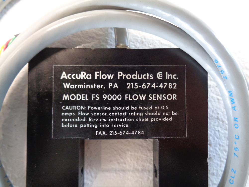 AccuRa Flow Products FS 9000 Flow Sensor 9300/D/1/1/048/1/0