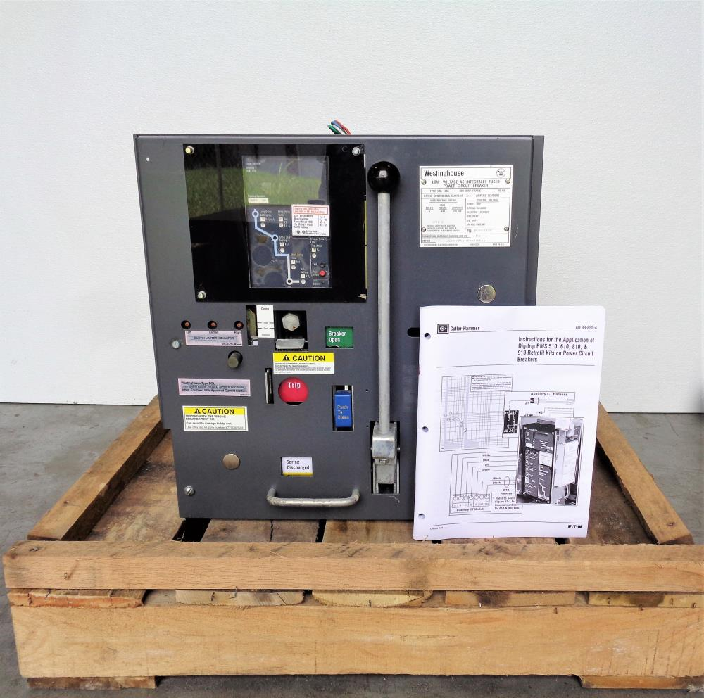 Westinghouse Dls 206 Low Voltage Ac Integrally Fused Power