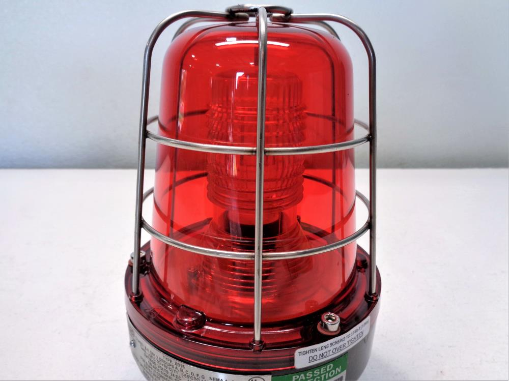 MEDC Red Strobe Warning Light XB16