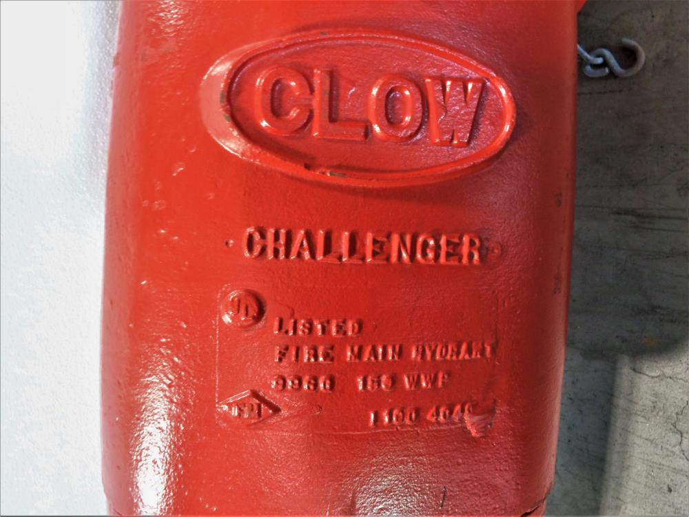 "Clow Challenger 5-1/4"" Fire Main Hydrant #9960"
