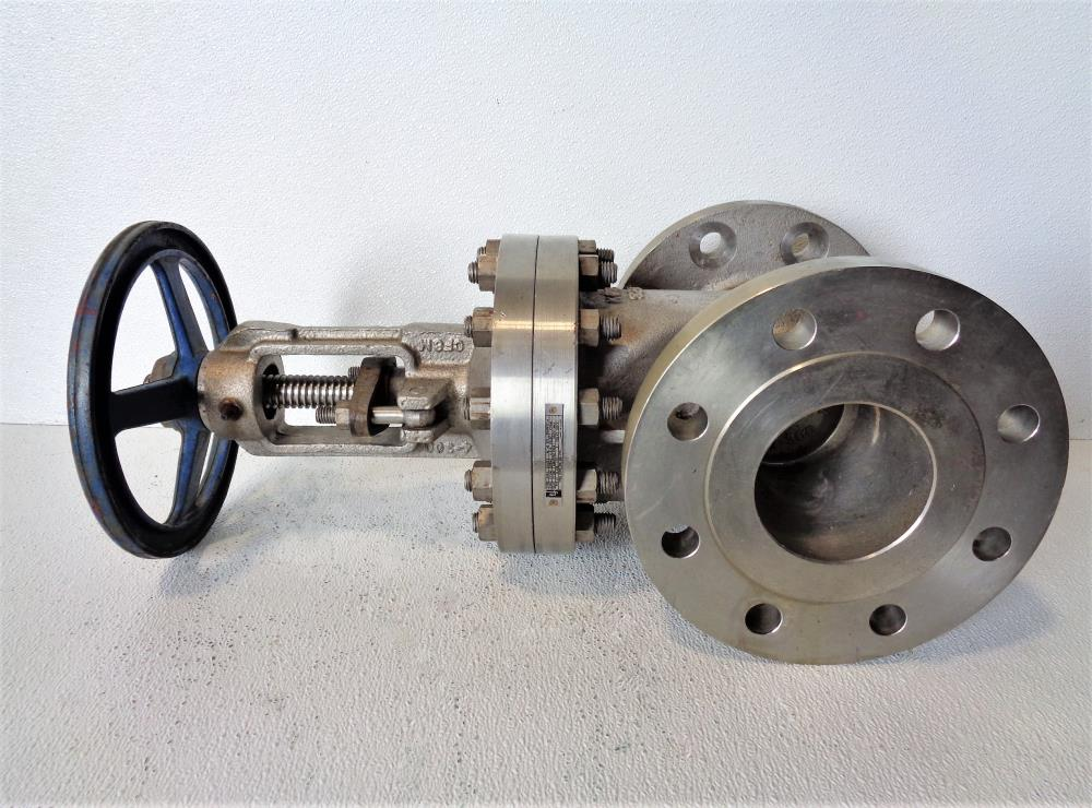 "TY 4"" 300# CF8M Gate Valve, Stainless Steel, Fig# 201RF0910"