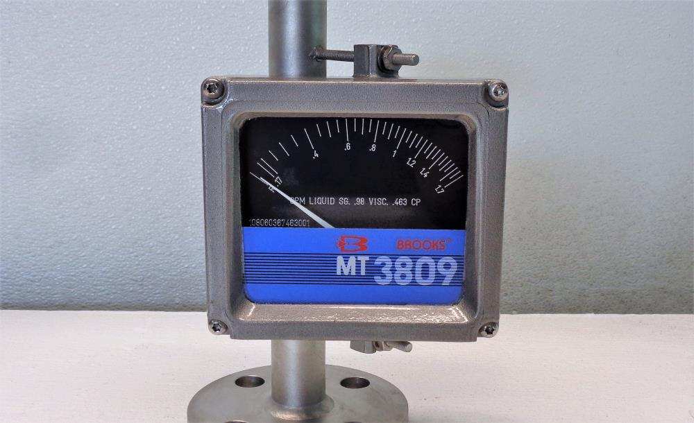 "Brooks MT 3809 1"" 150# Flanged Variable Area Flowmeter 3809EBBBAHQAGA1"