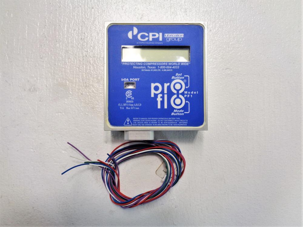 CPI Pro-Flo Lubrication Monitor PF1