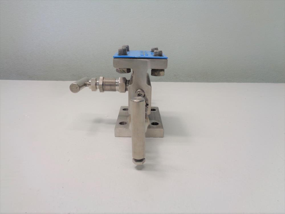 Anderson Greenwood Manifold Valve, 316SS, 6000 PSI, #M4AHIS