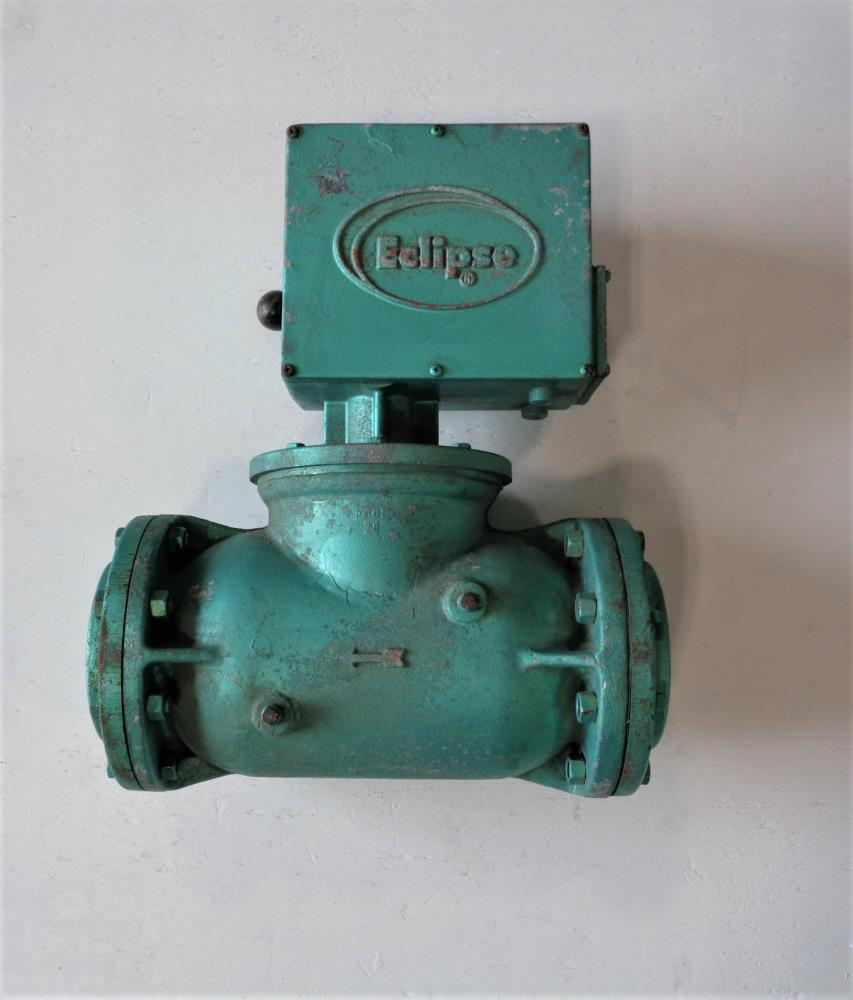 "Eclipse 4"" Manual Reset Shut-Off Valve 216LT-AF-3"