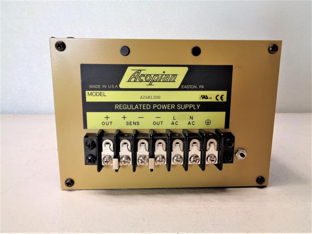 Acopian Regulated Power Supply A24H1200