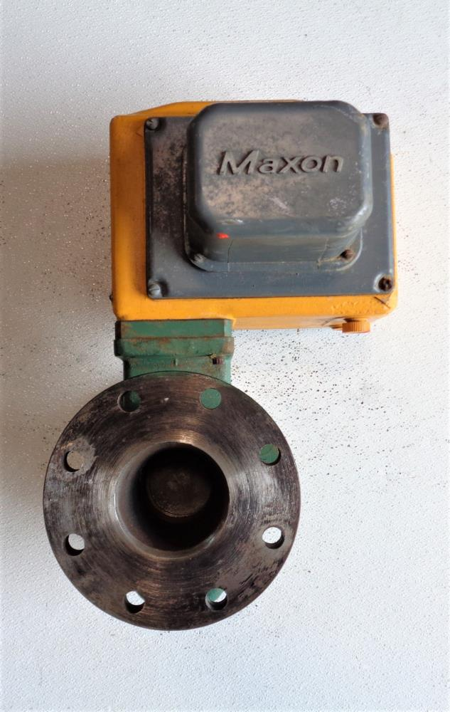 "Maxon 4"" Shut-Off Valve 5000S CP 2"