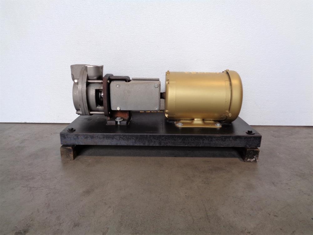 MTH T51E SS Regenerative Turbine Pump, Stainless Steel w/ 1HP Motor