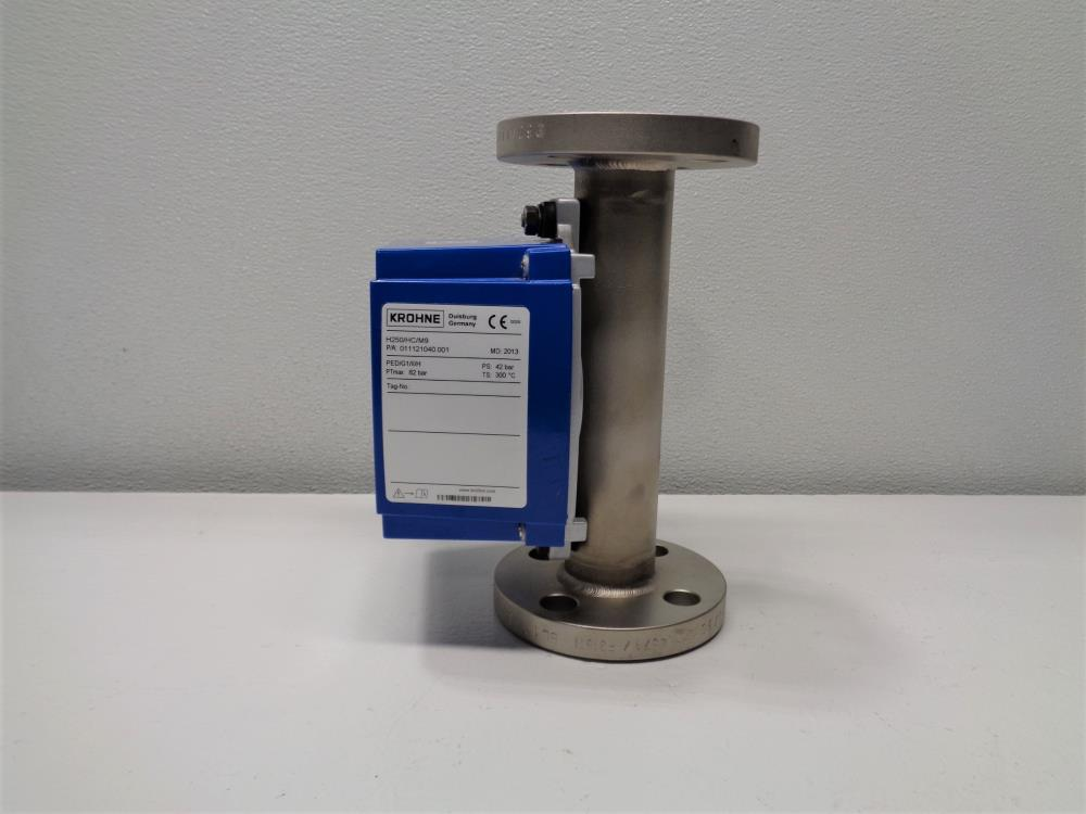 "Krohne 1"" 300# Variable Area Flow Meter H250/HC/M9"