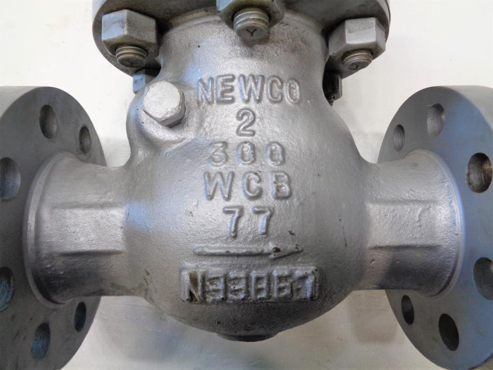 "Newco 2"" 300# WCB Check Valve, Fig# 33F-CB2"