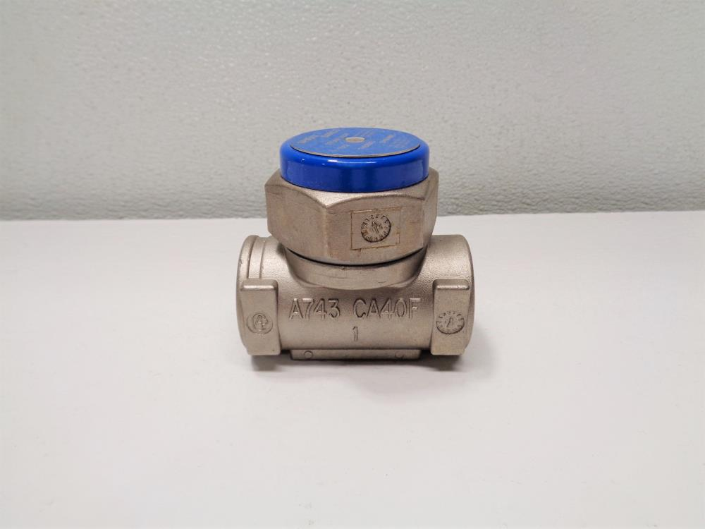 "Spirax Sarco TD52 Thermodynamic Steam Trap 1/2"" NPT #54530C"