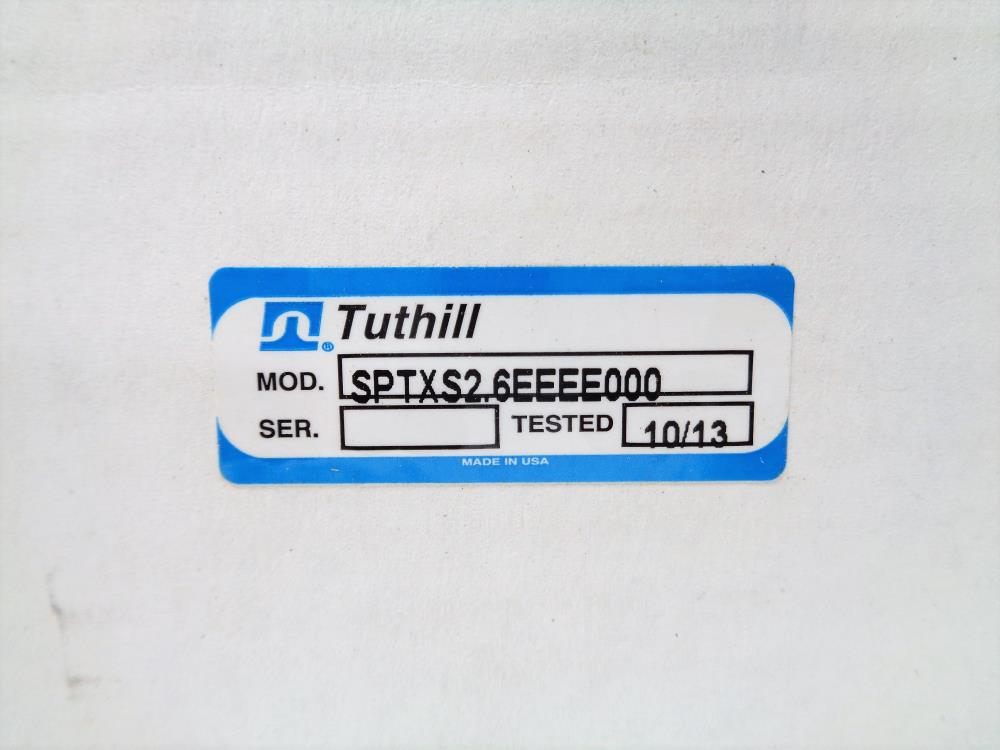 Tuthill Driving Gear Assembly SPTXS2.6EEEE000