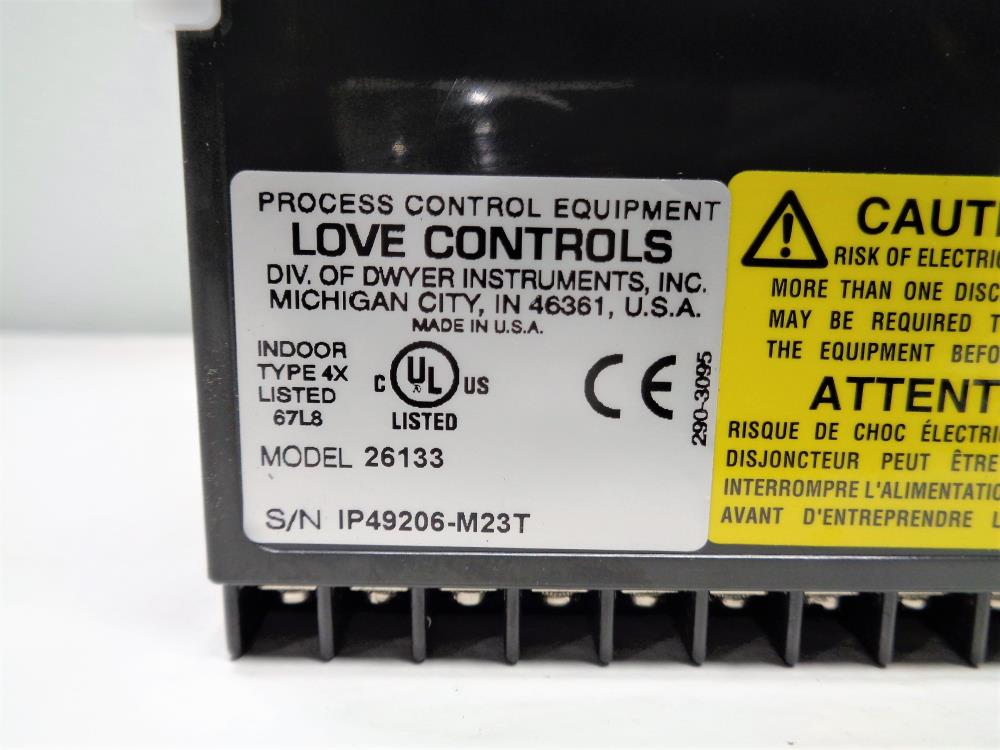 Love Controls Temperature Process Controller #26133