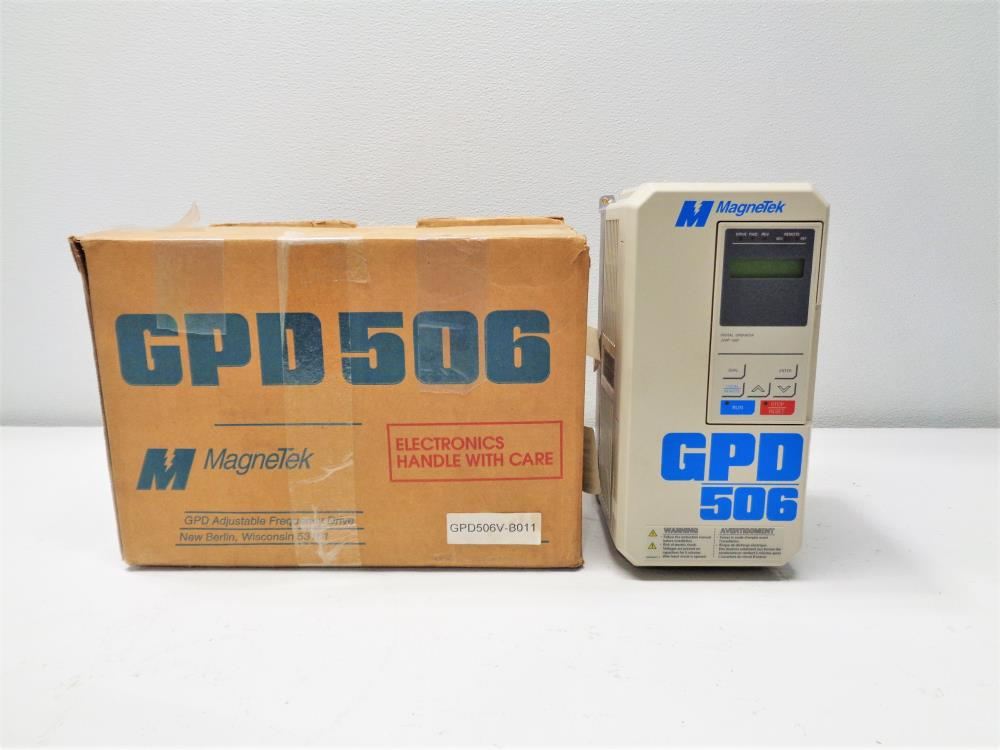 Magnetek 3-Phase GDP Adjustable Frequency AC Drive GPD506V-B011