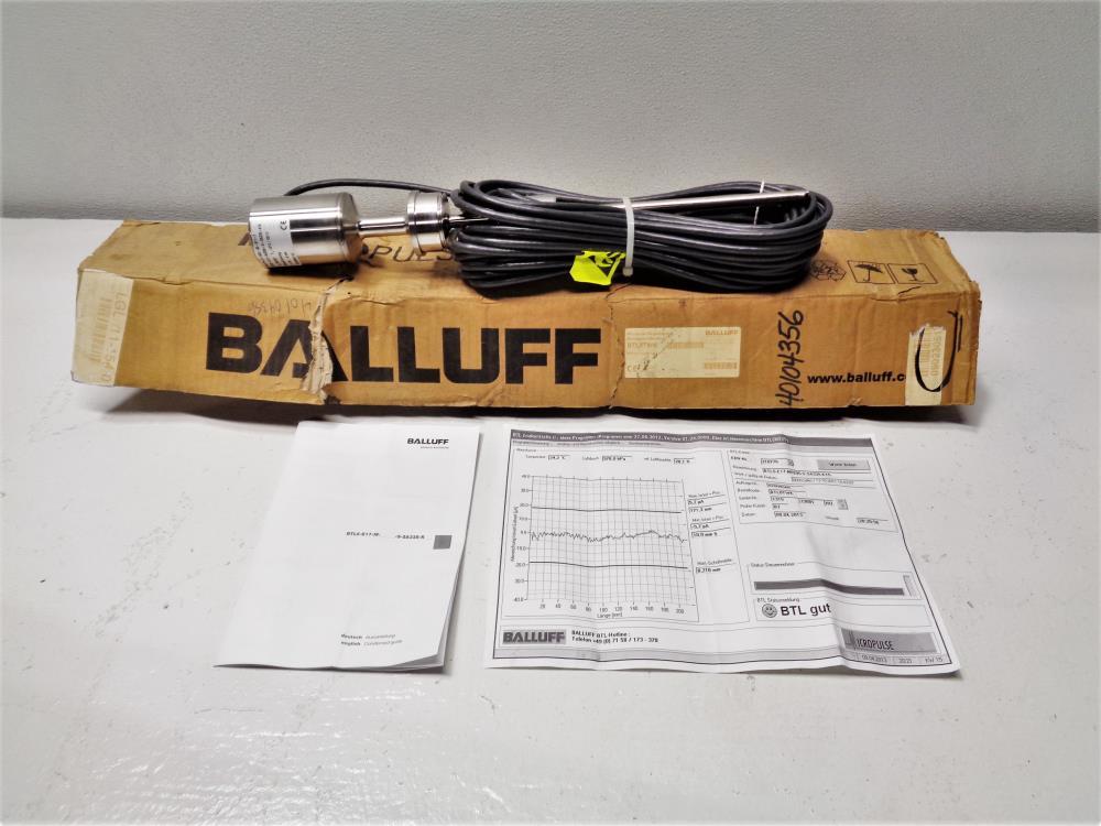 Balluff BTL0TWK MicroPulse Transducer BTL5-E17-M0295-S-SA335-K15