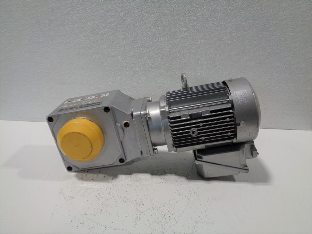 Sumitomo Gear Drive RNYMSI-1420YA-40, Ratio 40, W/ 3-Phase Induction Motor