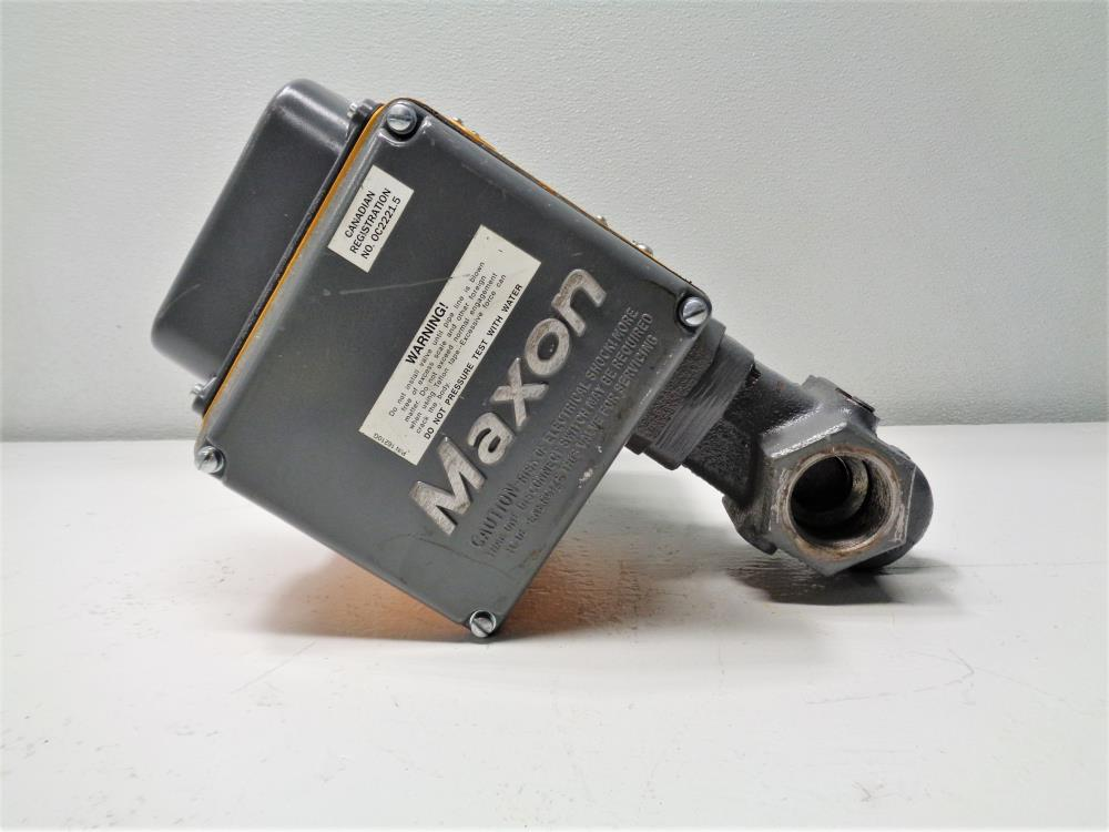 "Maxon 1.5"" NPT 5000 1 Safety Shut-Off Valve"