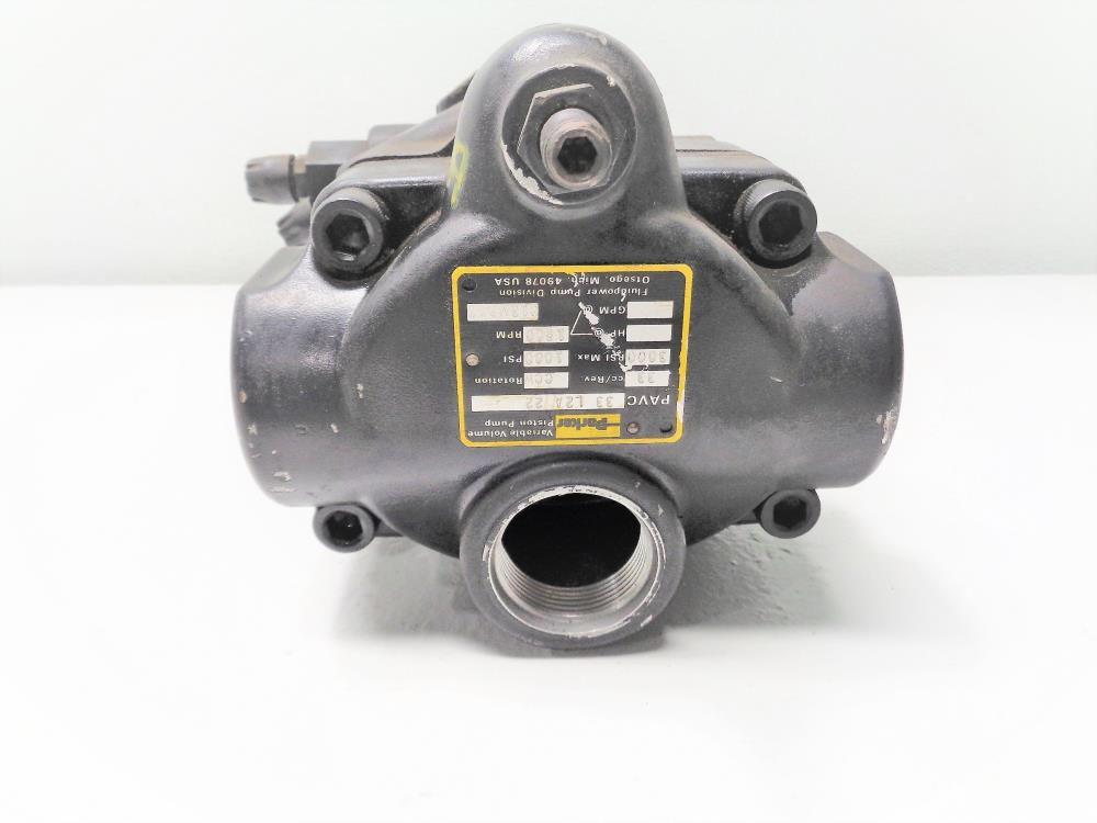 Parker Hydraulic Variable Volume Piston Pump #PAVC 33 L2A 22