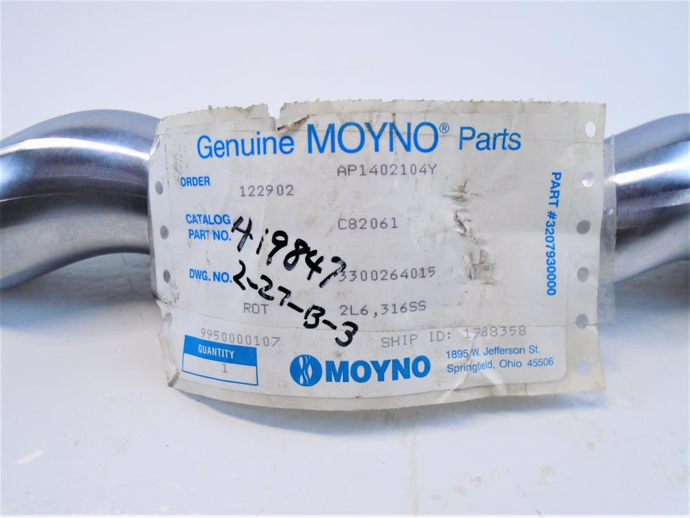 Moyno 2L6 Stainless Steel Pump Rotor 3300264015
