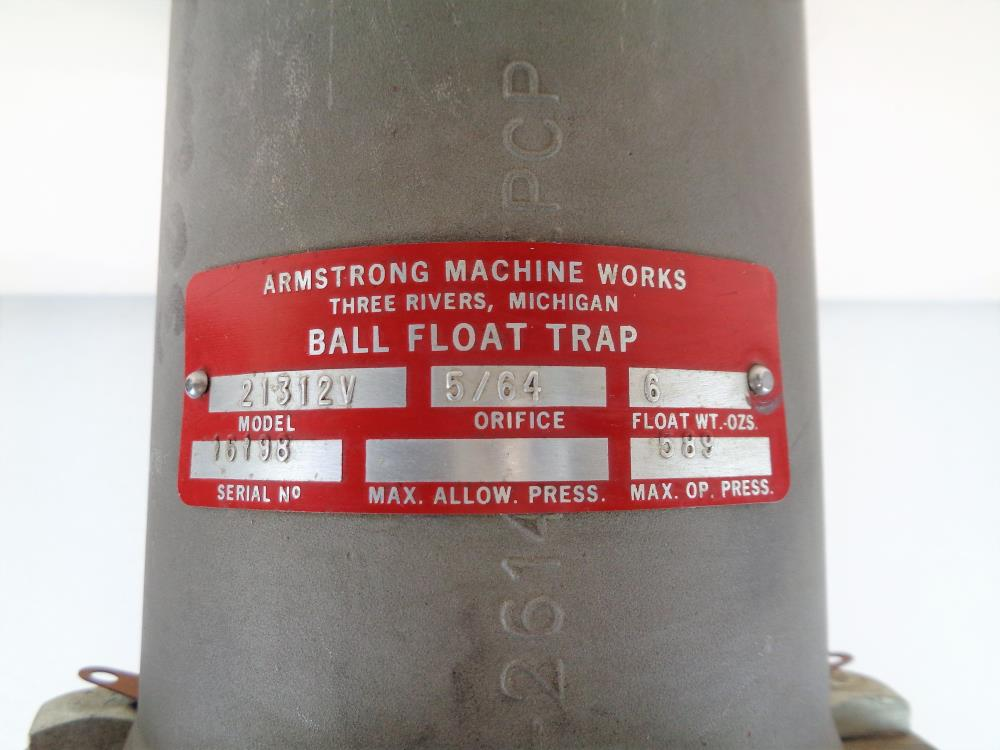 "Armstrong 1/2"" NPT Ball Float Trap #21312V"