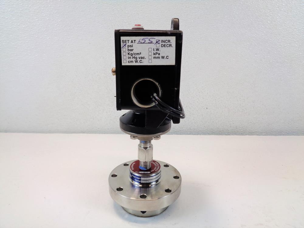Ashcroft Pressure Switch B420V XFMFS with Stainless Diaphragm PW2.5J.3680