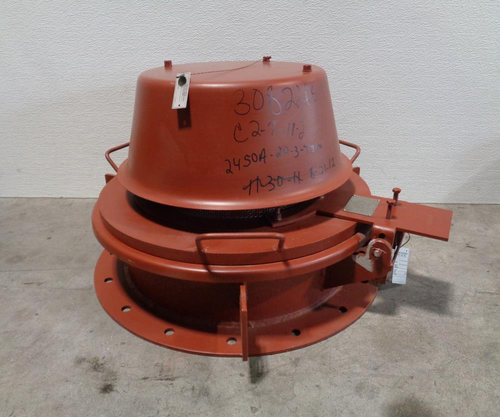 "Groth 20"" Emergency Pressure Vacuum Relief Vent Valve 2450A-20-3-E200"