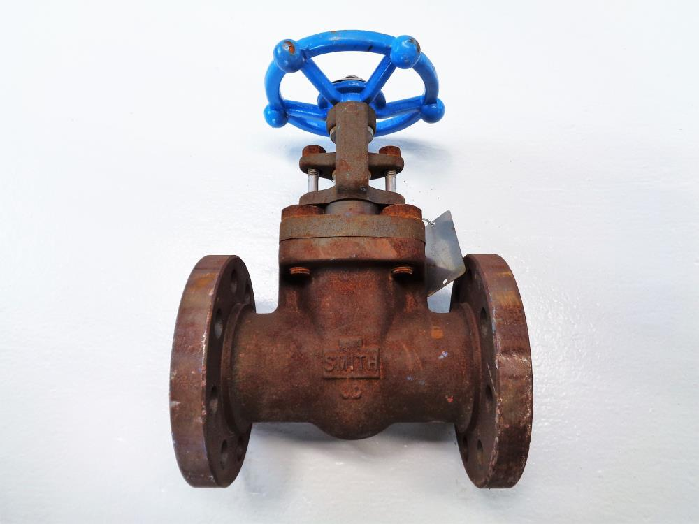 "Smith 2"" 300# A105 Gate Valve, 410 Stem, 420 Wedge, HF Seats"
