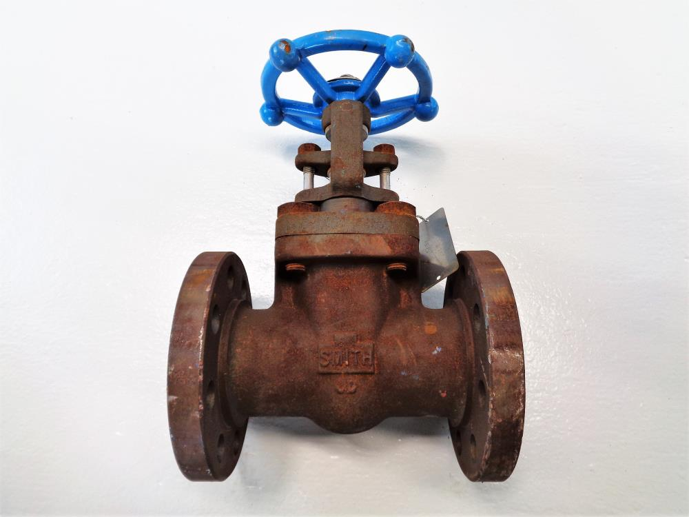 "Smith 2"" 300# A105 Gate Valve, 13Cr Stem, 13Cr Wedge, HF Seats"