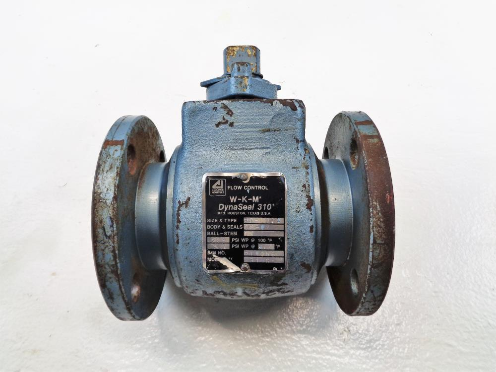"Cooper WKM DynaSeal 310C Ball Valve, 2"" Flanged, Carbon Steel 2F-B110"