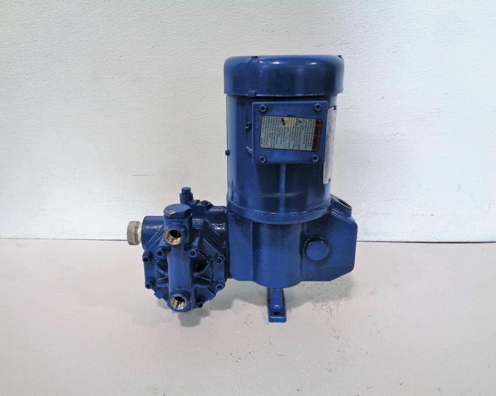 Neptune Metering Pump 500-A-N3-100728 with Leeson Motor 1/3 HP