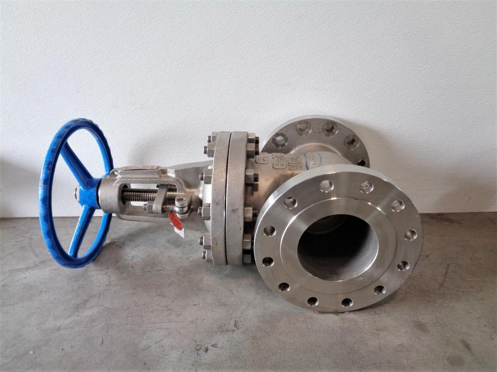 "Velan 6"" 300# CF3 Gate Valve, Model A, Fig# F14-1064C-12CY-W399"