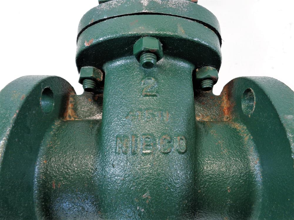 "Nibco 2"" 150# DI Gate Valve, Fig# F-637-31"