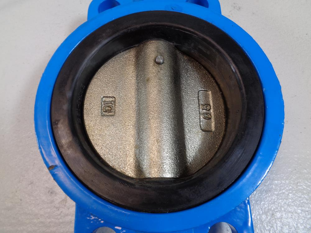 "KF 5"" Wafer Butterfly Valve, Series BG, A536 Ductile Iron Body and Disc"