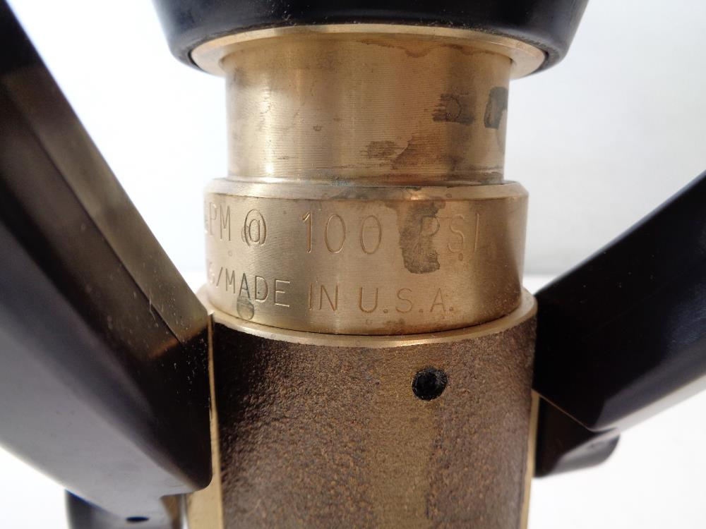 "Akron Brass Fog Nozzle 1.50"" NH, 95 GPM, Style #3015"