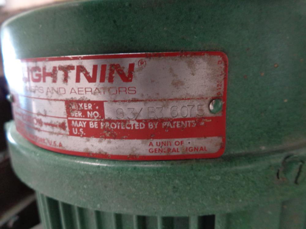 Lightnin Dura-Mix Energy Efficient Motor B77R0071M-ZT
