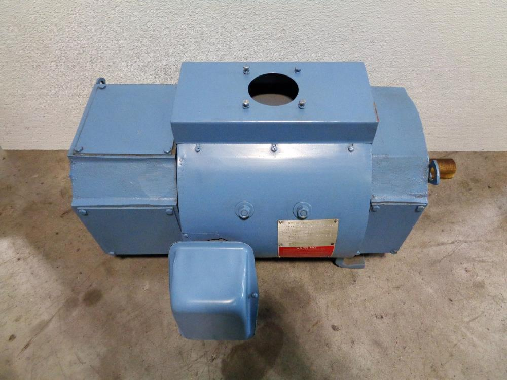 Emerson 15 HP Direct Current Motor 2880A420000 w/ Motorized Centrifugal Blower