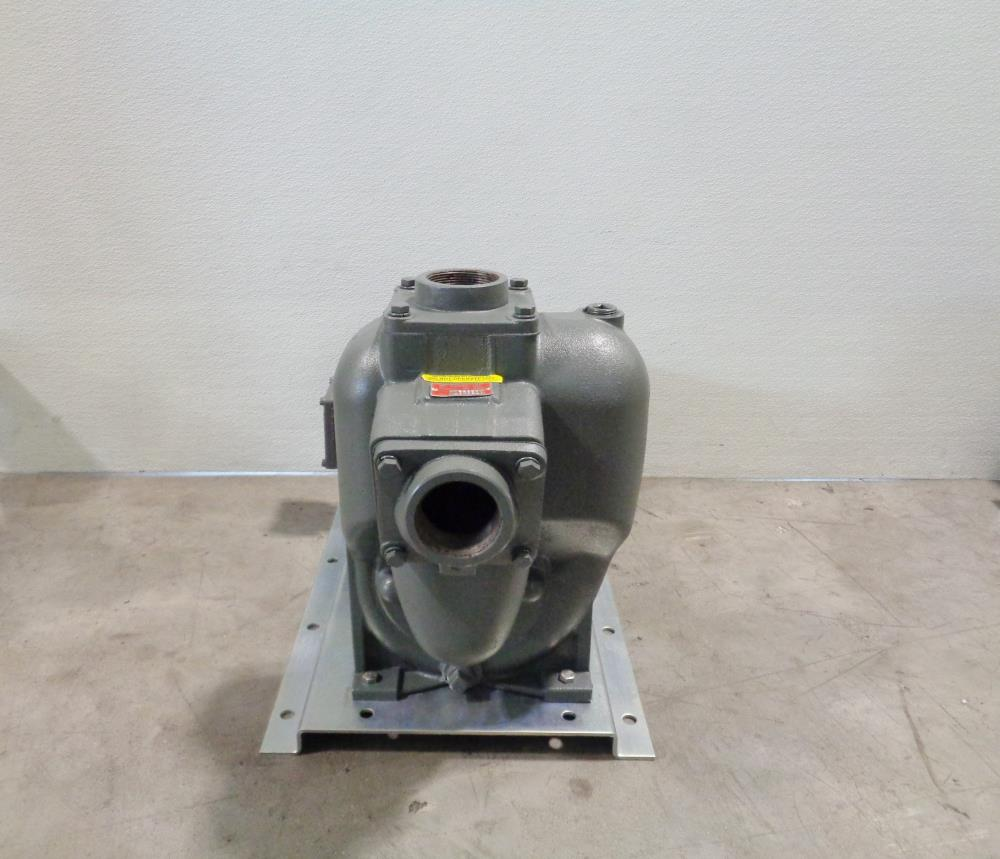 "MP Pumps 2"" Petroleum Self-Priming Centrifugal Pump 38497 & Baldor 5/3HP Motor"