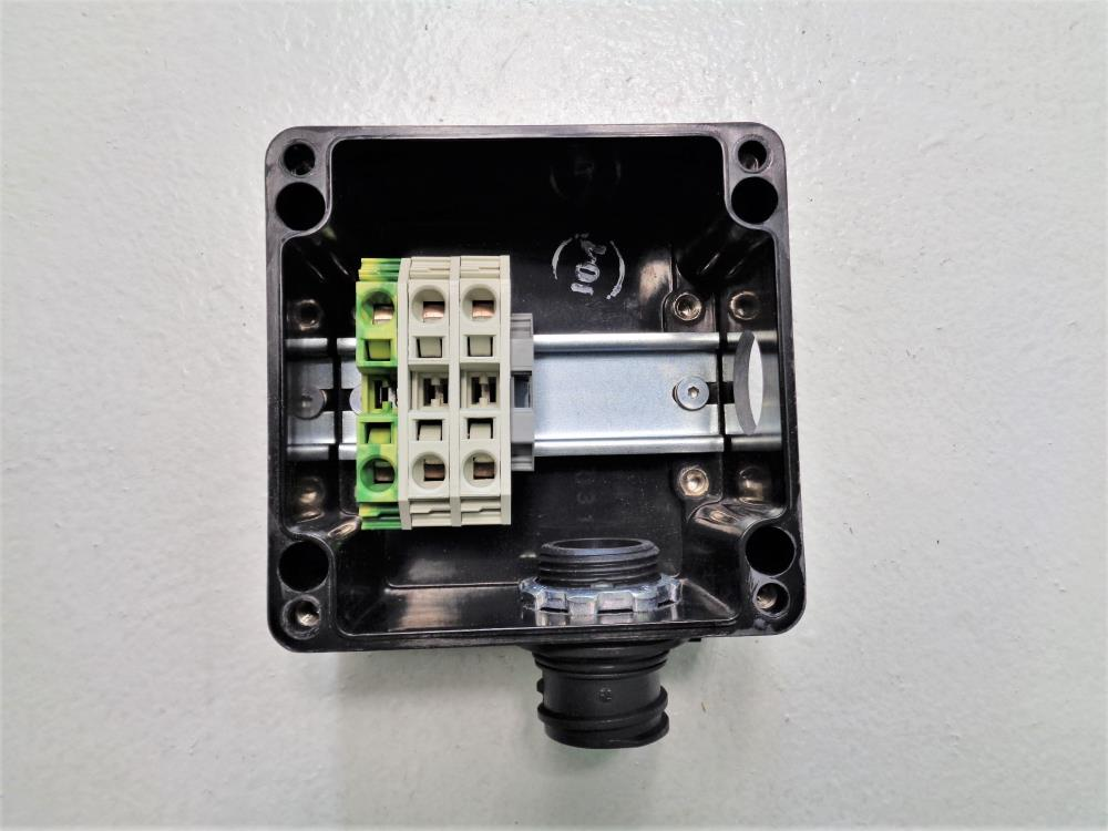 Raychem Single Entry Power Connection w/ Light & Junction Box JBS-100-L-A