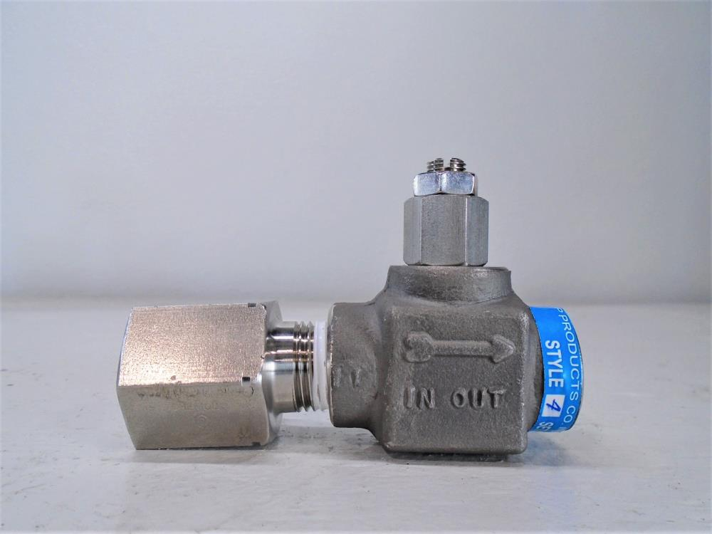 "Lot of (3) Chemiquip 1/2"" NPT Pressure Limiting Valve PLV 2550"
