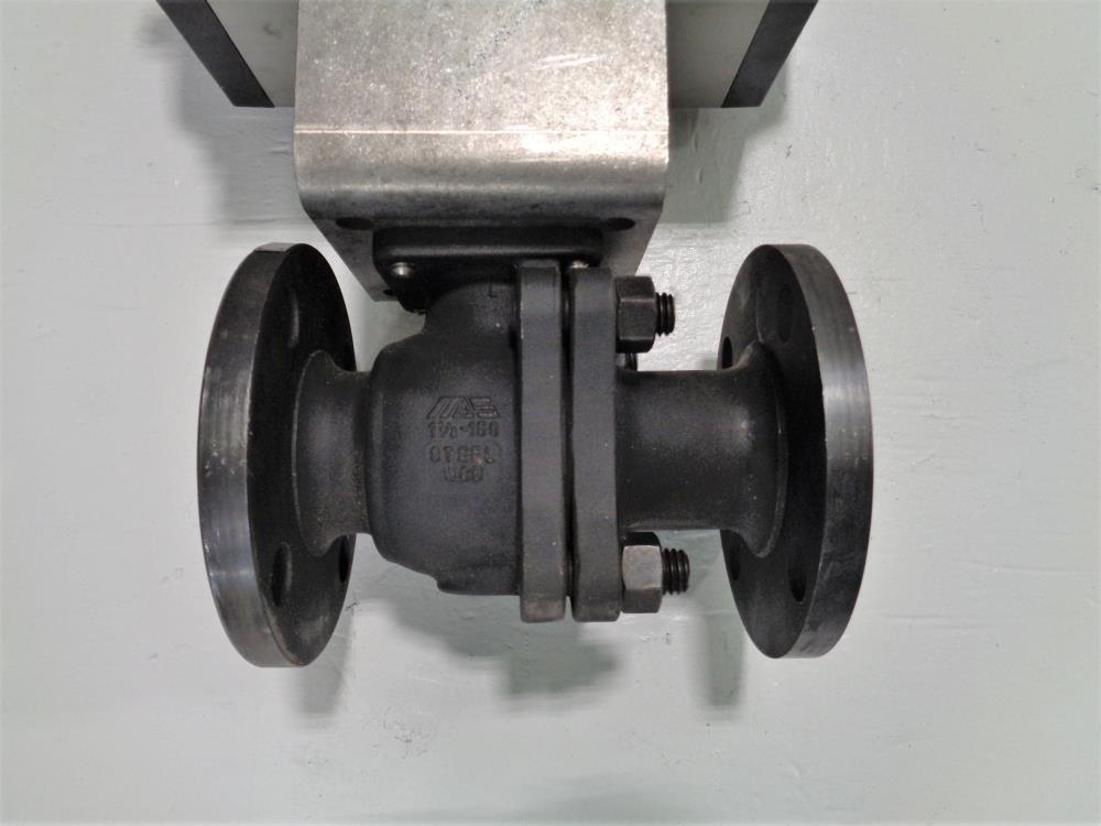 "MAS 1-1/2"" 150# WCB 2-Piece Actuated Ball Valve MT36.S4.F07-F10.CH22"