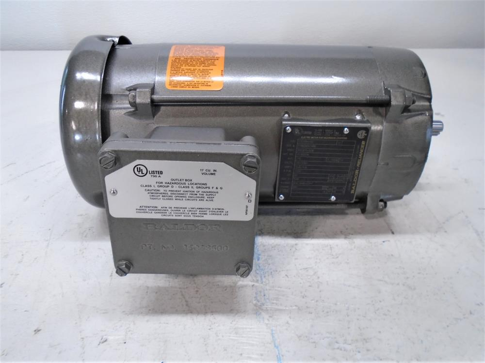 Baldor Reliance .75 HP Electric Motor #VL5007A, 115/230V, 1725 RPM