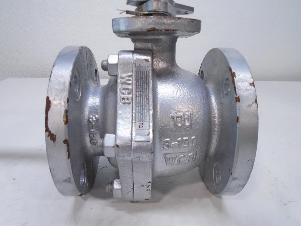 "TY 3"" 150# WCB 2-Pc Full Port Ball Valve 155RF0010"