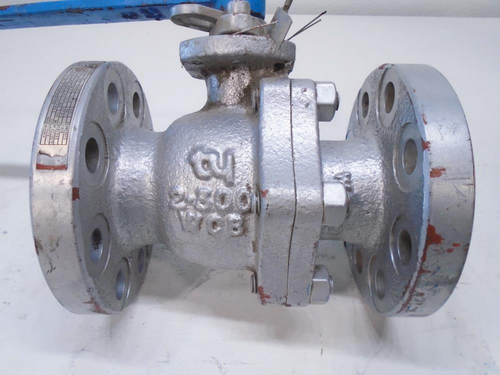 "TY 2"" 300# WCB 2-Pc Full Port Ball Valve 255RF0010"