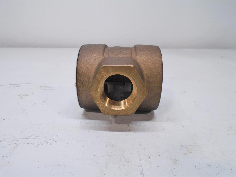 "Penberthy 3/4"" NPT Sight Flow Indicator with Rotator STWR, Bronze"