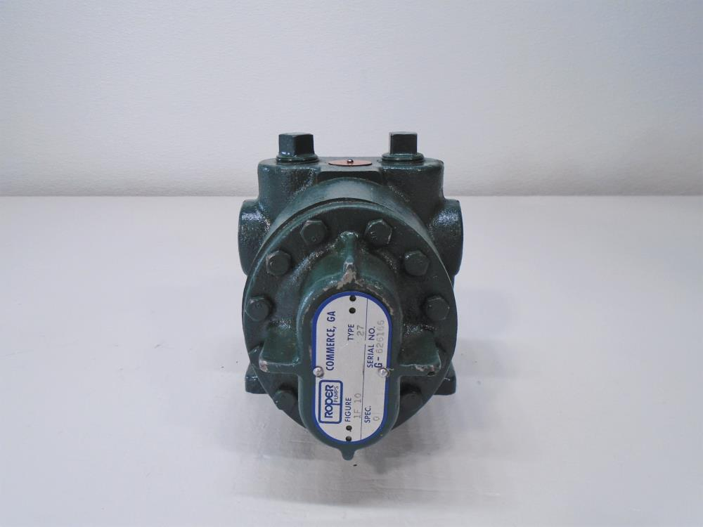 Roper Pump, Figure 1F 10, Type 27