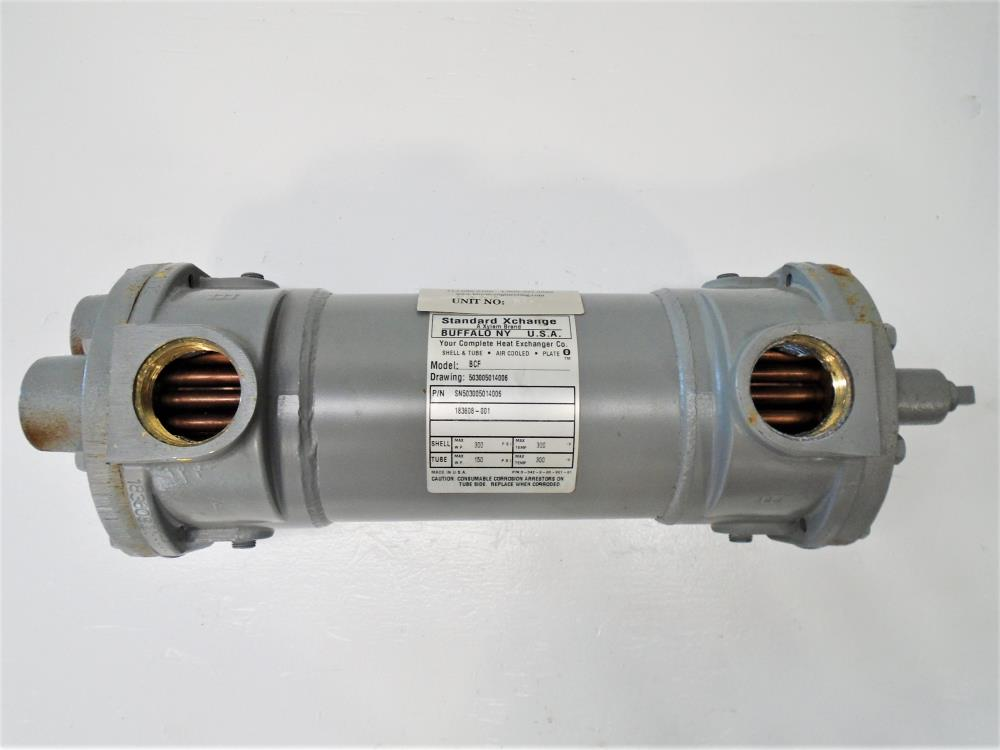 Standard Xchange BCF Shell and Tube Heat Exchanger SN503005014006